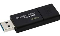 Kingston DataTraveler100 G3 32GB Black