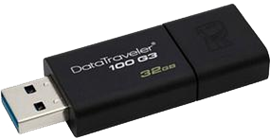 Kingston DataTraveler100 G3 32GB USB 3.0 Drive