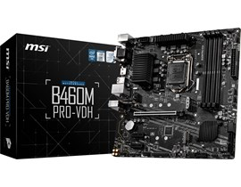 MSI B460M PRO-VDH Intel Socket 1200 Motherboard