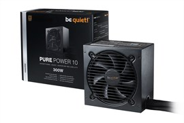 Be Quiet! Pure Power 10 300W 80+ Bronze PSU