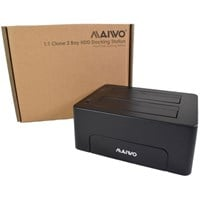Maiwo Dual Bay 2.5 / 3.5 Inch USB 3.0 Hard Drive Dock and Clone