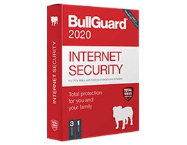 Bullguard Internet Security 2020 - 1 Year Subscription, 3 Devices