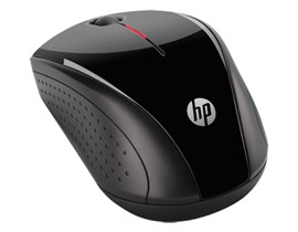 HP X3000 Wireless Optical Mouse - Glossy Black