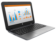 HP Stream 11 Pro (11.6 inch) Notebook PC Celeron (N2840) 2.16GHz 2GB 32GB SSD WLAN BT Webcam Windows 8.1 64-bit with Bing (HD Graphics)