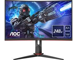 "AOC C32G2ZE/BK 31.5"" Full HD VA Curved LED Monitor"