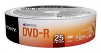 Sony 25DMR47SB DVD-R 4.7 GB 16x (25 Pack)