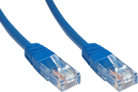 CCL Choice 0.5m CAT5E Patch Cable (Blue)
