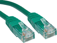 CCL Choice 0.25m CAT6 Patch Cable (Green)