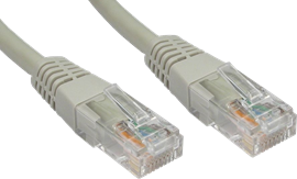 CCL Choice 4m CAT6 Patch Cable (Grey)