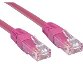 CCL Choice 0.25m CAT6 Patch Cable (Pink)