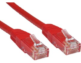 CCL Choice 0.25m CAT6 Patch Cable (Red)