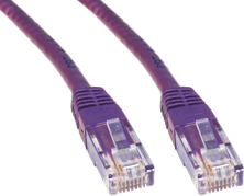 CCL Choice 0.25m CAT6 Patch Cable (Violet)