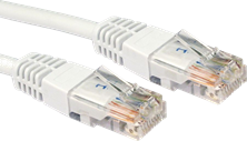 CCL Choice 0.25m CAT6 Patch Cable (White)