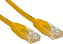 CCL Choice 10m CAT6 Patch Cable (Yellow)