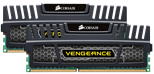 Corsair Memory Vengeance Jet Black 16GB DDR3 1600 MHz CAS 10 XMP Dual Channel Desktop