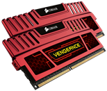 Corsair Memory Vengeance Racing Red 8GB DDR3 2133 MHz CAS 11 XMP Dual Channel Desktop