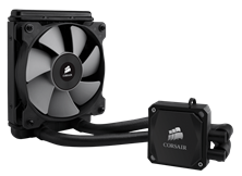 Corsair Hydro Series H60 2013 model High Performance Liquid CPU Cooler