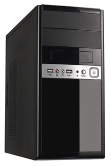 CiT 1016 Midi Tower Black Case