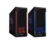 Galaxy Evo Gaming Case USB3 3x Red/Blue LED Switchable Fans + Bubble LED