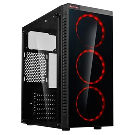 CiT Inferno Mid Tower Gaming Case - Black