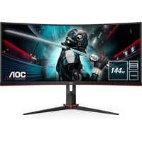AOC CU34G2X 34 inch LED 1ms Gaming Curved Monitor - 3440 x 1440