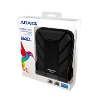 Adata DashDrive 640GB Mobile External Hard External in Black