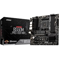 MSI B550M PRO-VDH WIFI mATX Motherboard for AMD AM4 CPUs