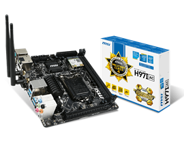 MSI H97I AC Intel Socket 1150 Motherboard *Open Box*