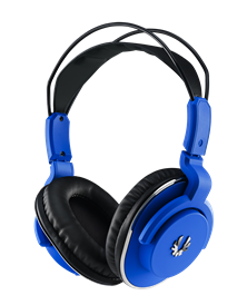 BitFenix Flo Gaming Headset SofTouch - Blue