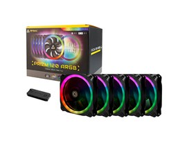 Antec Prizm 120 ARGB 5+C - Case fan - 120 mm (pack of 5)