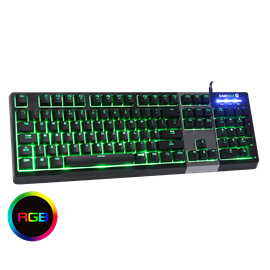 Game Max Click Mechanical Feel Keyboard RGB