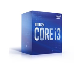 Intel Core i3-10100 3.6GHz Quad Core Processor for Socket 1200 with 4 Cores, 8 Threads, 65W TDP, 6MB Cache, 4.3GHz Turbo, Intel UHD Graphics 630, Stock Cooler *Open Box*
