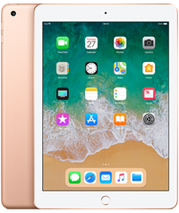 Apple iPad 2018 Quad Core 9.7 IPS Apple iOS Gold 32GB Tablet,