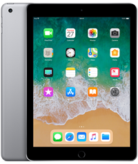 Apple iPad 2018 Quad Core 9.7 IPS Apple iOS Grey 128GB Tablet,