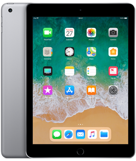 "Apple iPad 2018 9.7"" IPS Apple iOS Tablet"