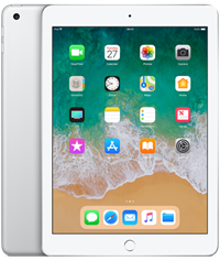 Apple iPad 2018 Quad Core 9.7 IPS Apple iOS Silver 32GB Tablet,