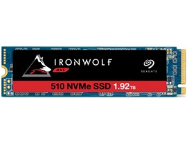 Seagate IronWolf 510 1.92TB M.2-2280 PCIe Gen3 x4 NVMe 1.3 Internal Solid State Drive *Open Box*