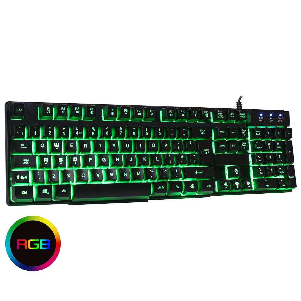 0f5784d64af CiT Builder Wired RGB Gaming Keyboard - KB-BUILDERRGB | CCL Computers