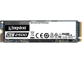 Kingston KC2500 250GB M.2-2280 NVMe PCIe SSD