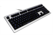 Ducky Legend - Blue LED - Blue Cherry MX Switch - Silver Aluminium