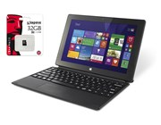 "Linx 10 10.1"" IPS Microsoft Windows 8.1 Tablet with Keyboard and Cover + 32GB Micro SD Card"