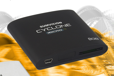 Sumvision Cyclone Micro 3 8GB Media Player - Micro3