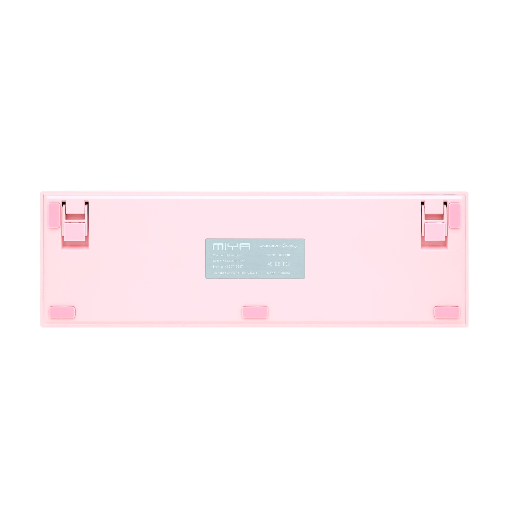 Ducky x Varmilo MIYA Pro Sakura Edition Mechanical Keyboard with Cherry MX  Red Switches (UK)