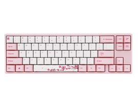 Ducky x Varmilo MIYA Pro Sakura Edition Mechanical Keyboard with Cherry MX Blue Switches (UK)