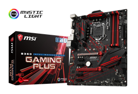 MSI B360 GAMING PLUS Intel Socket 1151 Motherboard