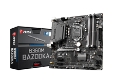 MSI B360M BAZOOKA Intel Socket 1151 Motherboard