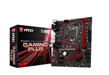 MSI B360M GAMING PLUS Intel Socket 1151