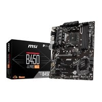 MSI B450-A PRO MAX ATX Motherboard for AMD AM4 CPUs