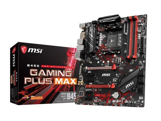 MSI B450 GAMING PLUS MAX AMD Motherboard