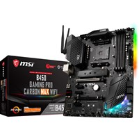 MSI B450 GAMING PRO CARBON MAX WIFI ATX Motherboard for AMD AM4